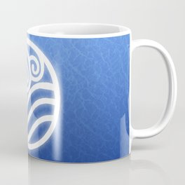 Avatar Water Bending Element Symbol Coffee Mug