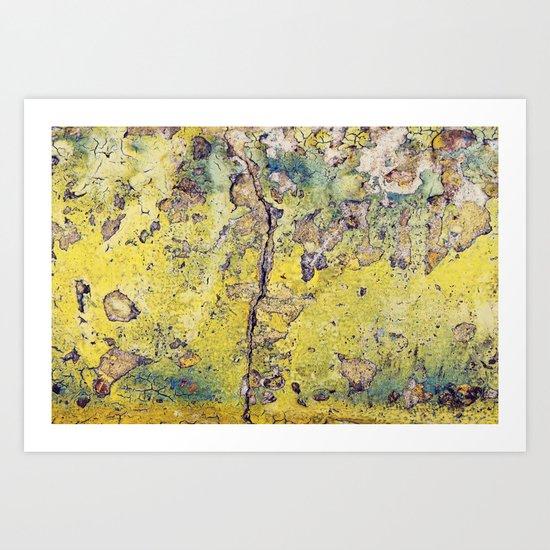 Grunge Abstract No.3 Art Print