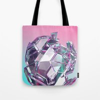 bucky Tote Bags featuring Bucky II by manso