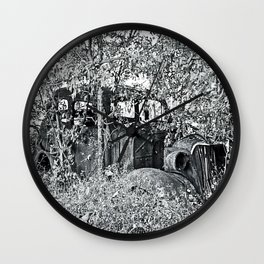 In Plain Sight Wall Clock