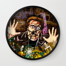 Hands up! Wall Clock