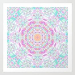 Sparkly Mandala 3 Art Print