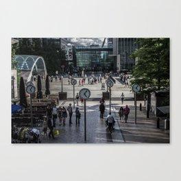 Canary Wharf Canvas Print