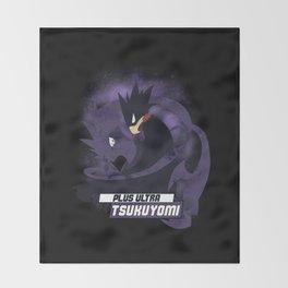 Tsukuyomi Throw Blanket