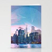 manhattan Stationery Cards featuring Manhattan by Esco