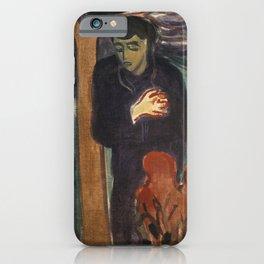 Edvard Munch - Separation iPhone Case