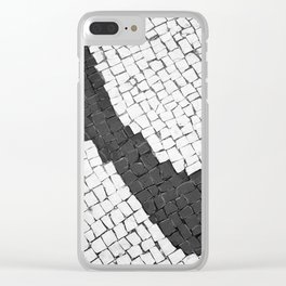 Rock in my shoe Clear iPhone Case