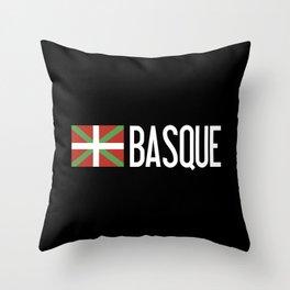 Basque Country: Basque Flag & Basque Throw Pillow