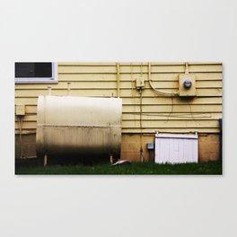 Yellow House Canvas Print