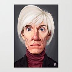 Celebrity Sunday ~ Andy Warhola Canvas Print