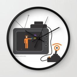 arcade eye Wall Clock