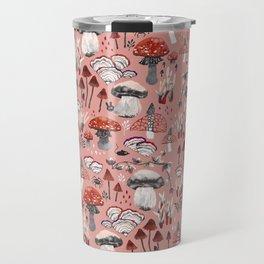 Fungi Farmer Land (Mushroom Land) - RED Travel Mug