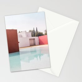 Silent Poetry Between Sky and Water Stationery Cards