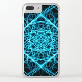 Silk pattern #12 Clear iPhone Case
