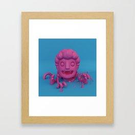 Bubblegum Vampire Framed Art Print