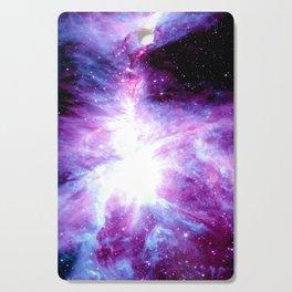 Orion Nebula Purple Periwinkle Blue Galaxy Cutting Board