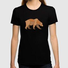 Shapely Brown Bear T-shirt