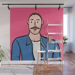 Beard Boy: Jose Manuel Wall Mural
