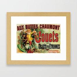 Aux Buttes Chaumont Framed Art Print