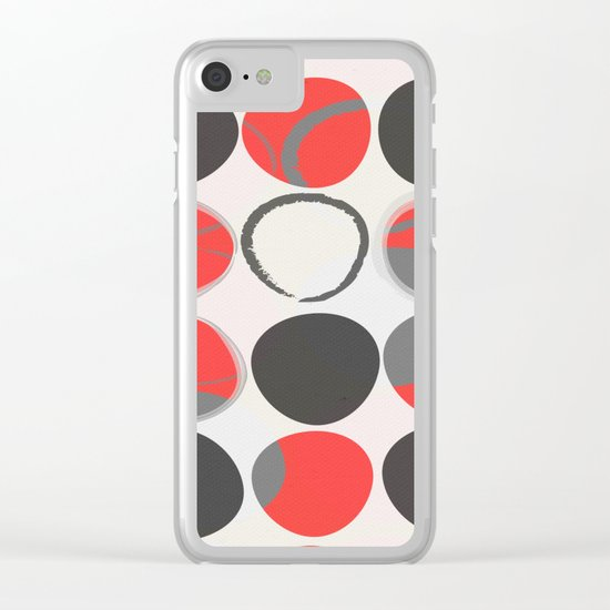 Standing Out 2 Clear iPhone Case