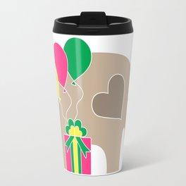 Celebration Elephant Travel Mug