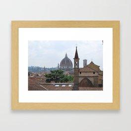 Santa Maria Novella Duomo Framed Art Print