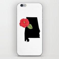 Alabama Silhouette iPhone & iPod Skin