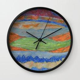 Moving Layers Wall Clock