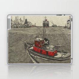 Morgan Tugboat, Hudson river, New York Laptop & iPad Skin