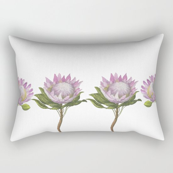 Beautiful Lotus Rectangular Pillow