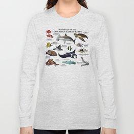 Animals of the Hawaiian Coral Reefs Long Sleeve T-shirt