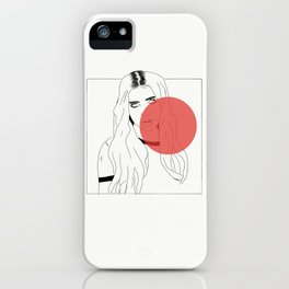 DUA LIPA X RED iPhone Case