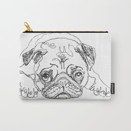 Lazy Pugturday Carry-All Pouch