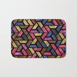 Seamless Colorful Geometric Pattern XIII Bath Mat
