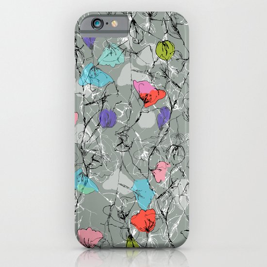 Crawling leaves iPhone & iPod Case
