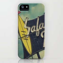 Safari Inn, Burbank, CA.  iPhone Case