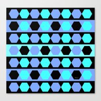 polygon Canvas Prints featuring Polygon by Heaven7