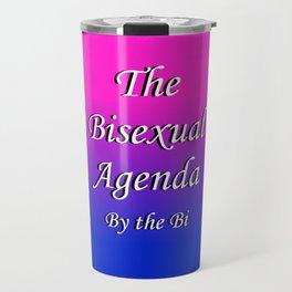 The Bisexual Agenda Travel Mug