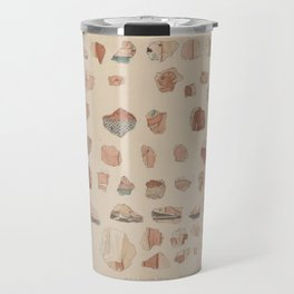 Painted plaster fragments from Amarna, 1930s Travel Mug