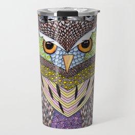 Poorly Camouflaged Owl Travel Mug