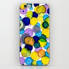 Blue splash of joy iPhone & iPod Skin