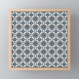 Floor Series: Peranakan Tiles 35 Framed Mini Art Print