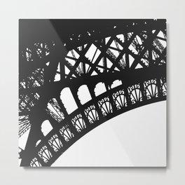 Eiffel Detail Metal Print