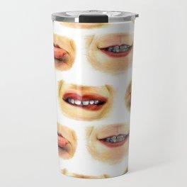 Lips with emotions Travel Mug