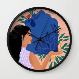 Your touch changes everything- Empathy Wall Clock