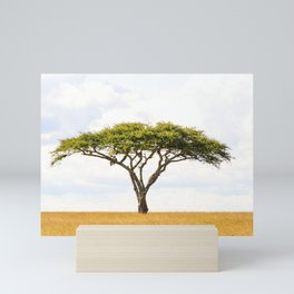 Tree Of Life - Acacia Vachellia Tortilis - Serengeti Plains 5101 Mini Art Print