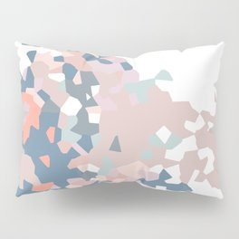 love the world to pieces pinks and grays Pillow Sham