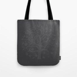 seasons circle black Tote Bag