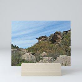 Rocky Canyon Mini Art Print