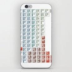 Elements of Star Wars Episodes: IV, V, and VI iPhone & iPod Skin